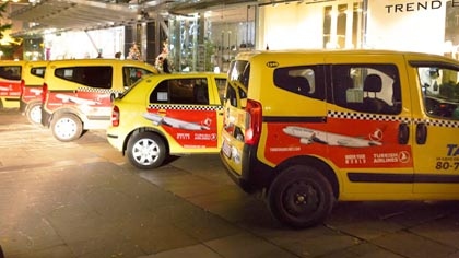 Такси реклама